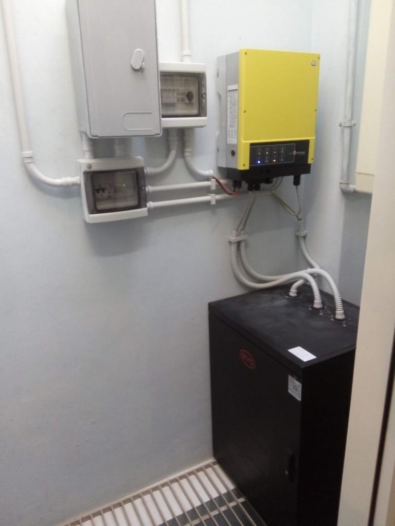 Fotovoltaico - accumulo - installazione