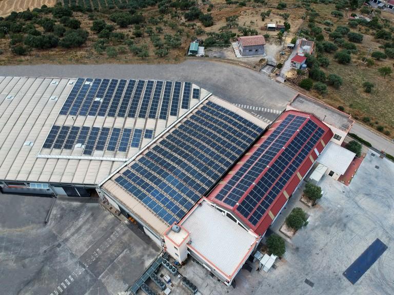 Soaplast impianto fotovoltaico